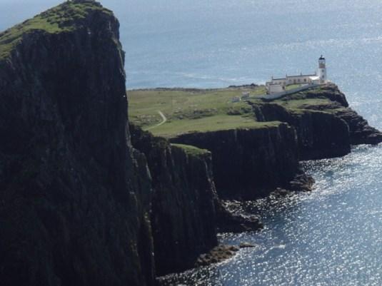 notre promenade au phare (par voie de terre!)