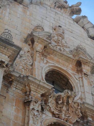 Alcala de Xivert : façade baroque