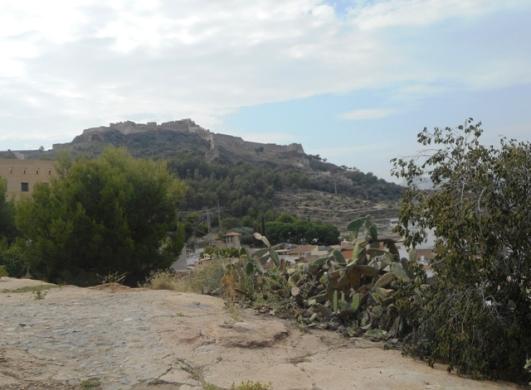 la forteresse sur la colline