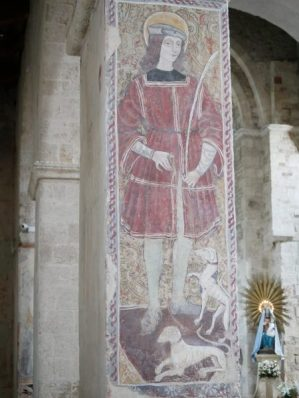 Sa Maria d'Anglona fresque